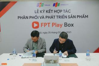 FPT Telecom bắt tay Synnex FPT phân phối và phát triển sản phẩm FPT Play Box